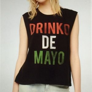 Urban Outfitters Drinko De Mayo Muscle Tee Small